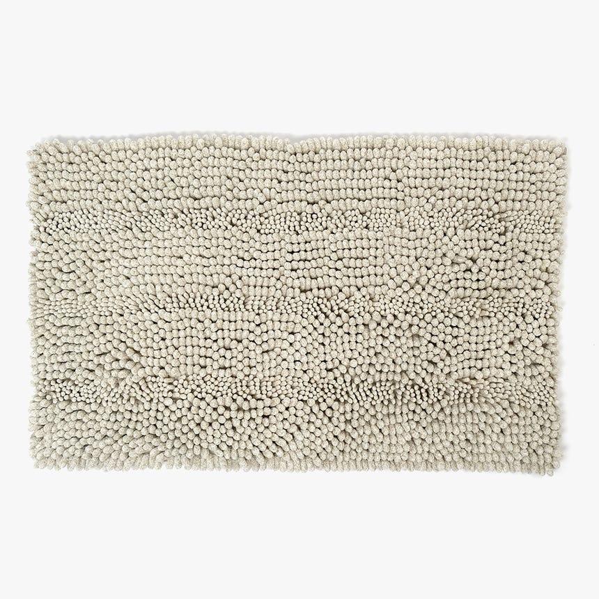 Alfombrilla de Baño Normcore Natural 50x80 cm