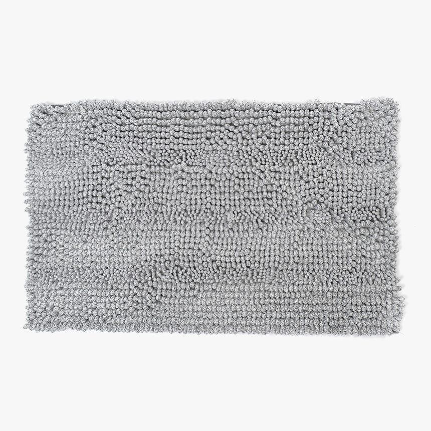 Alfombrilla de Baño Normcore Gris 50x80 cm