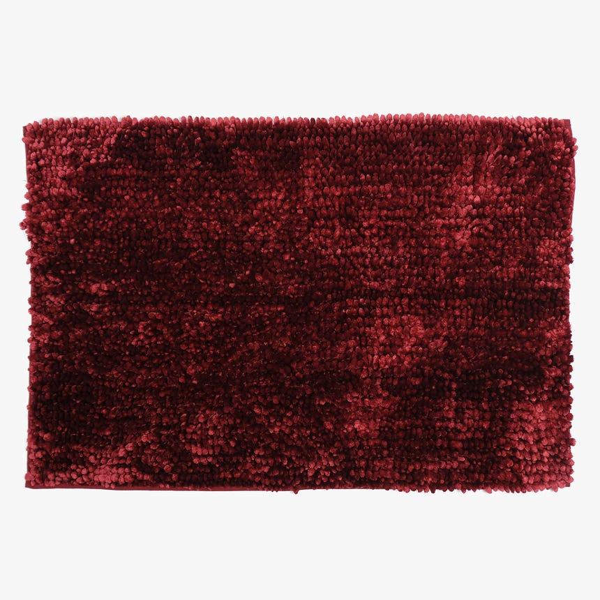 Alfombrilla de Baño 5BathStars Rojo 60x90 cm