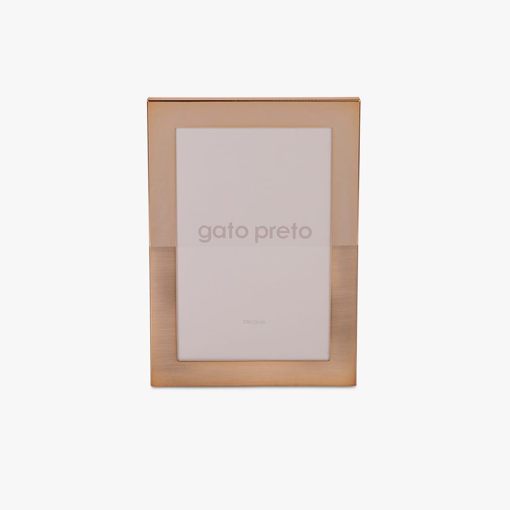 Moldura Dourada 10x15 cm