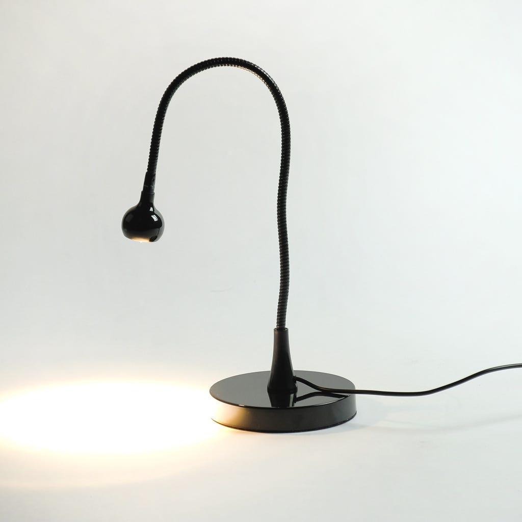 Lampe de Table Noir 1 LED