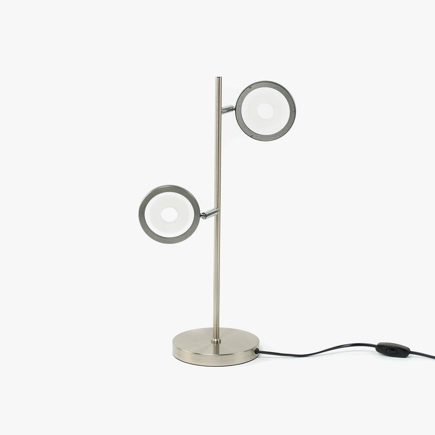 Lámpara de Mesa LED 2 Focos