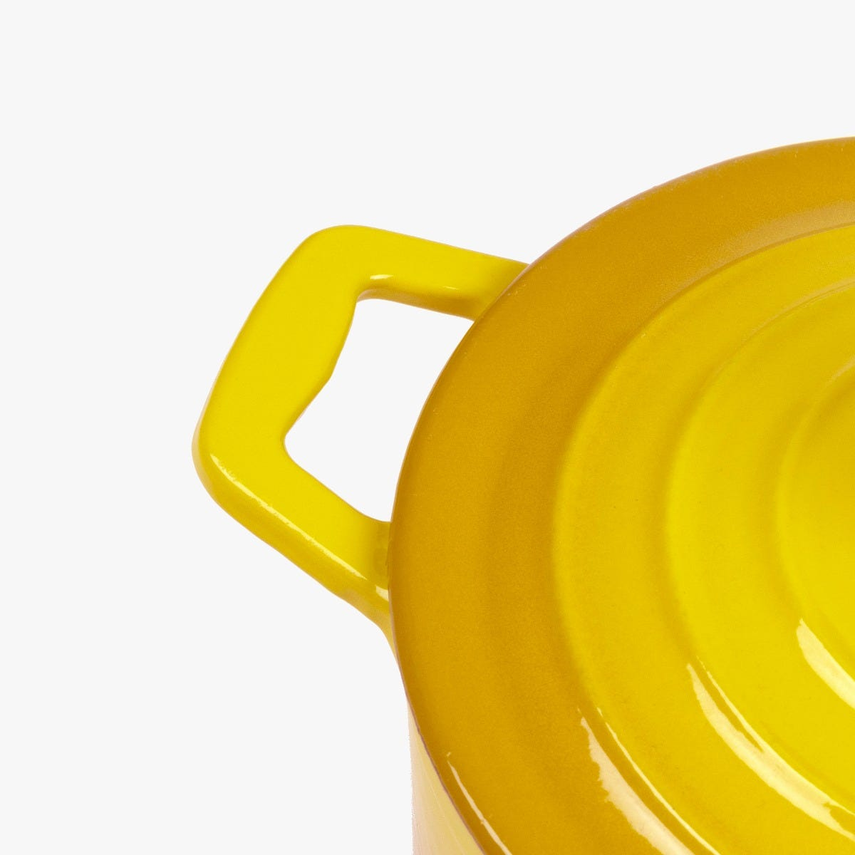 Caçarola ferro fundido Amarela D26 cm | 4.5L