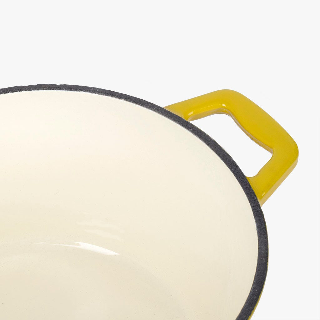 Caçarola ferro fundido Amarela D18 cm | 1.8L