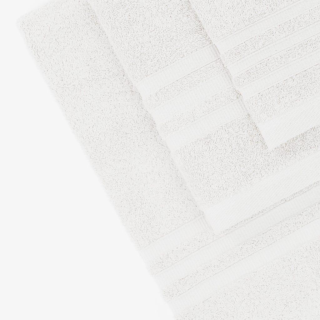 Toalha de Banho Branco 30x50 cm