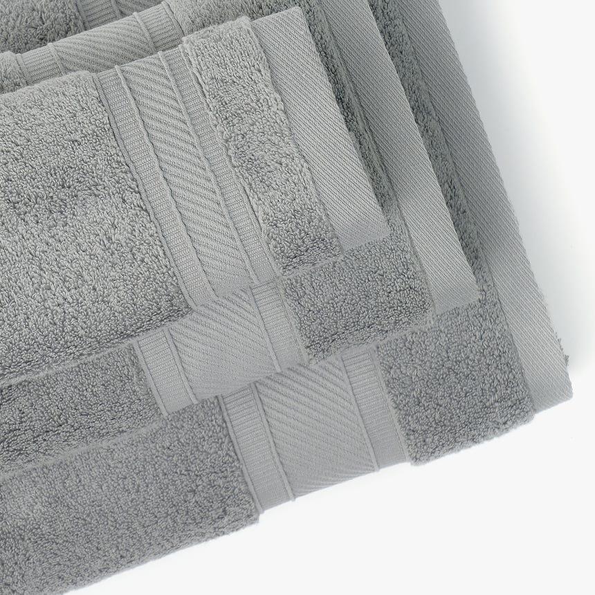 Toalha de Banho 5BathStars Cinza 30x50 cm