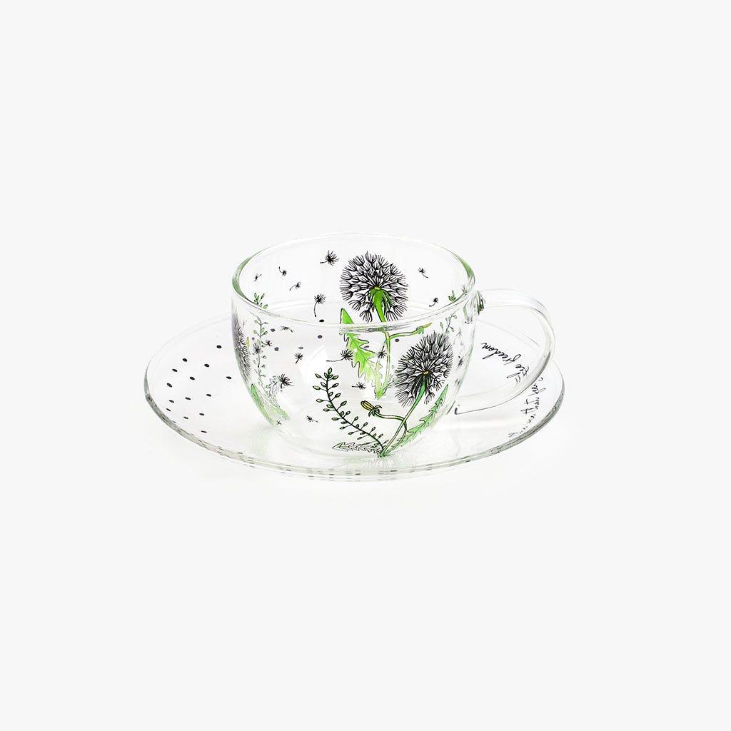 Chávena de Café + Pires Dandelion 9.3 cm