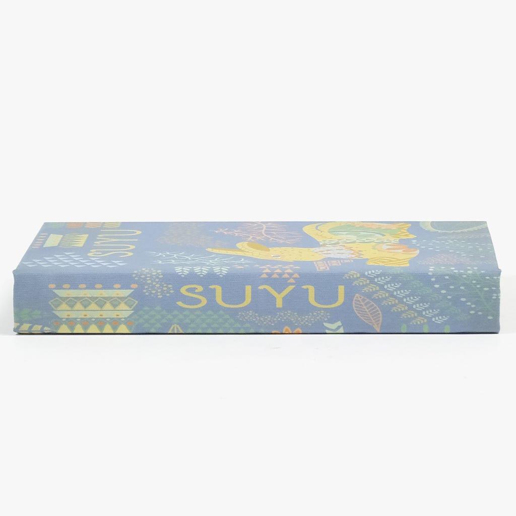 Caixa Livro Suyu Azul 21x14 cm