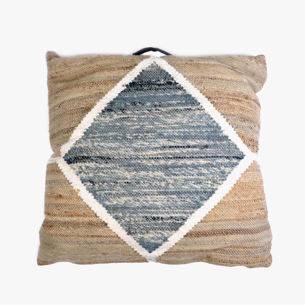 Almofada Cubos Cinzento 75x75 cm