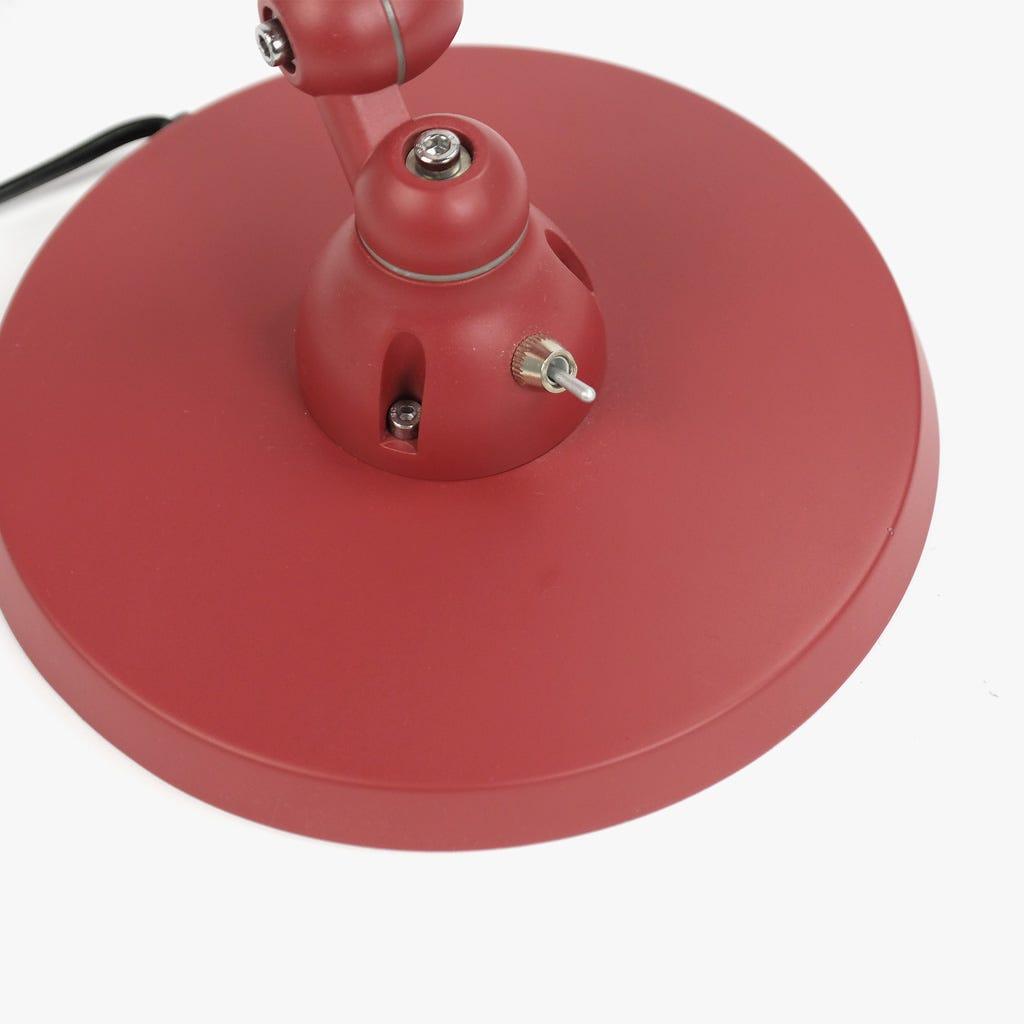 Lámpara de Mesa Tablero de dibujo Rojo