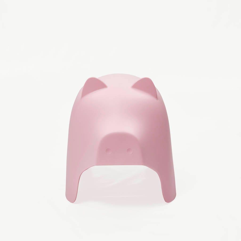 Taburete Cerdo Rosa 60x36x42 cm