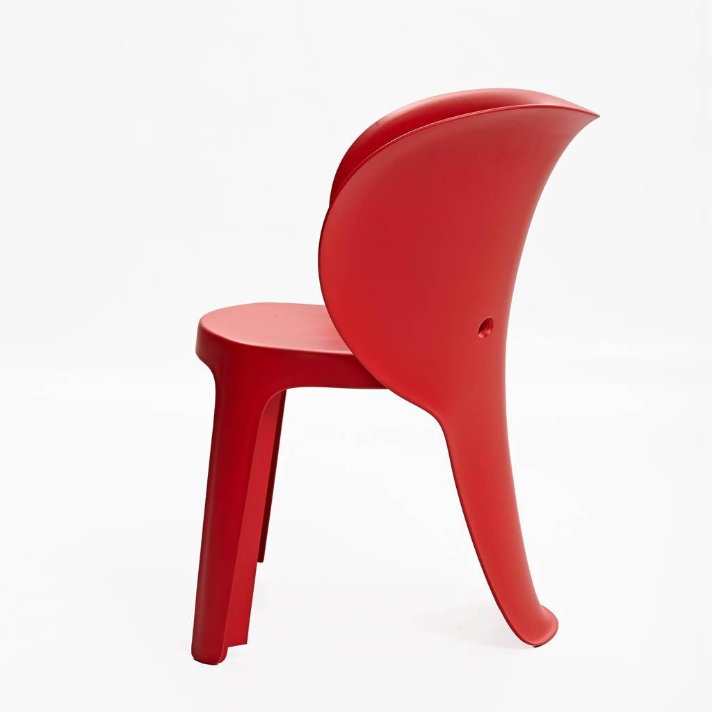 Cadeira Elefante Vermelho 41x47x55 cm