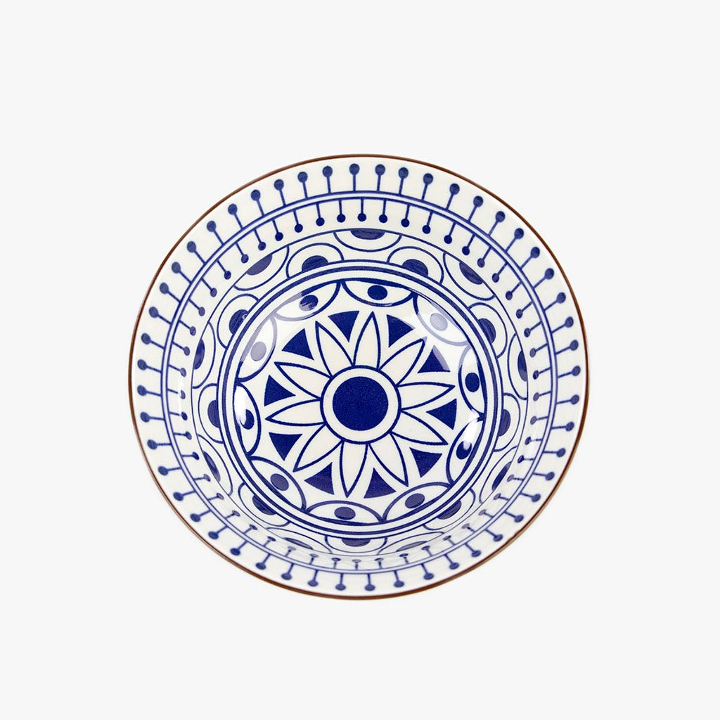 Taça Asia Azul 15 cm