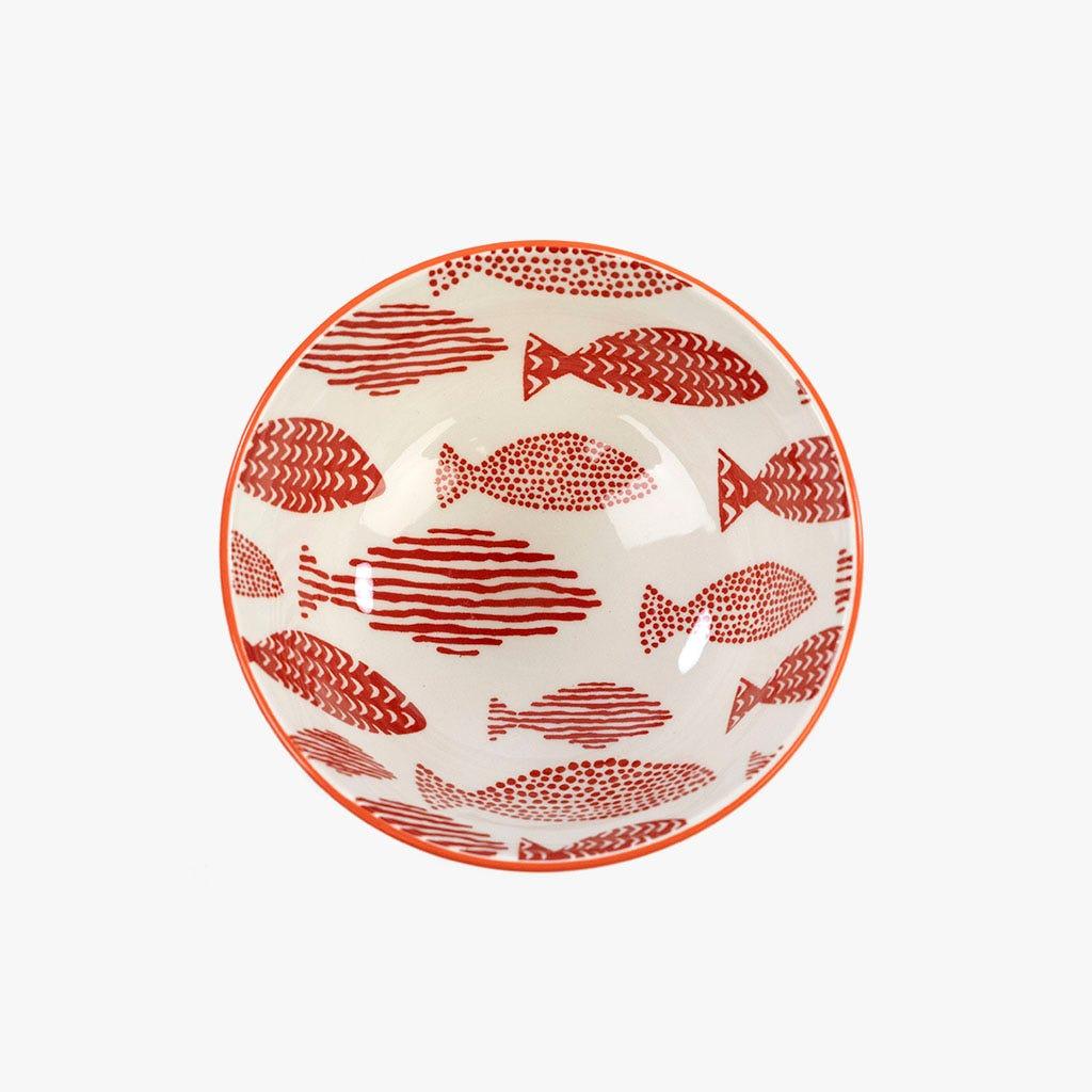 Taça Peixes Vermelha 12 cm
