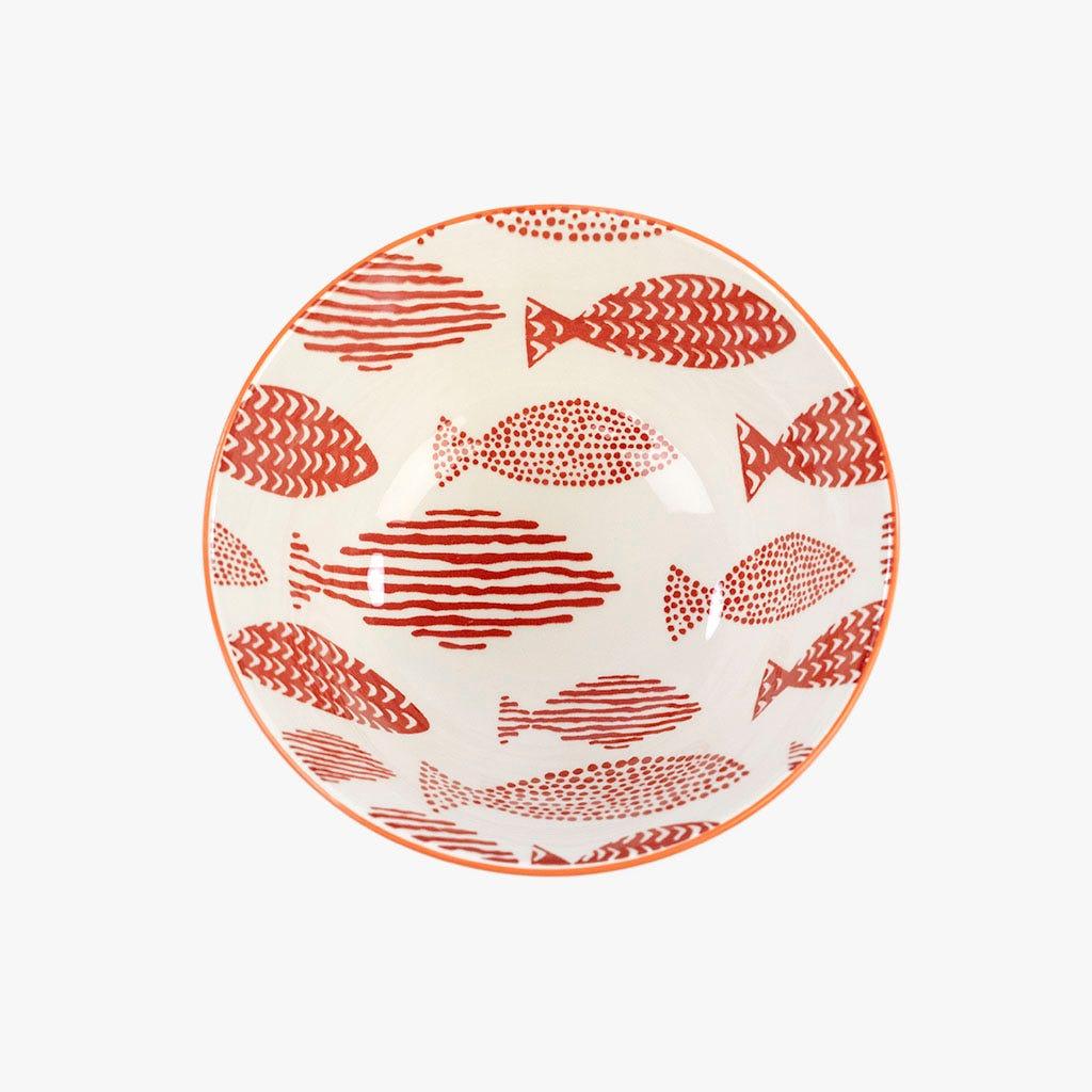 Taça Peixes Vermelha 15 cm