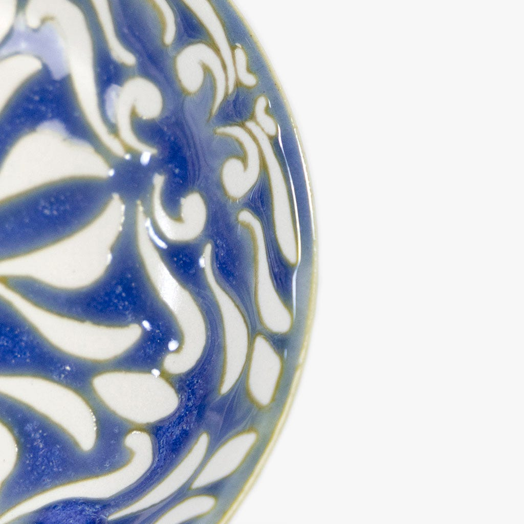 Mini prato Arabesco Azul 9.5 cm