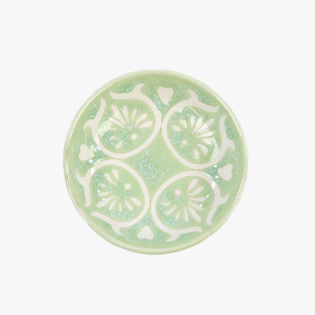 Mini prato Folha Aqua 9.5 cm