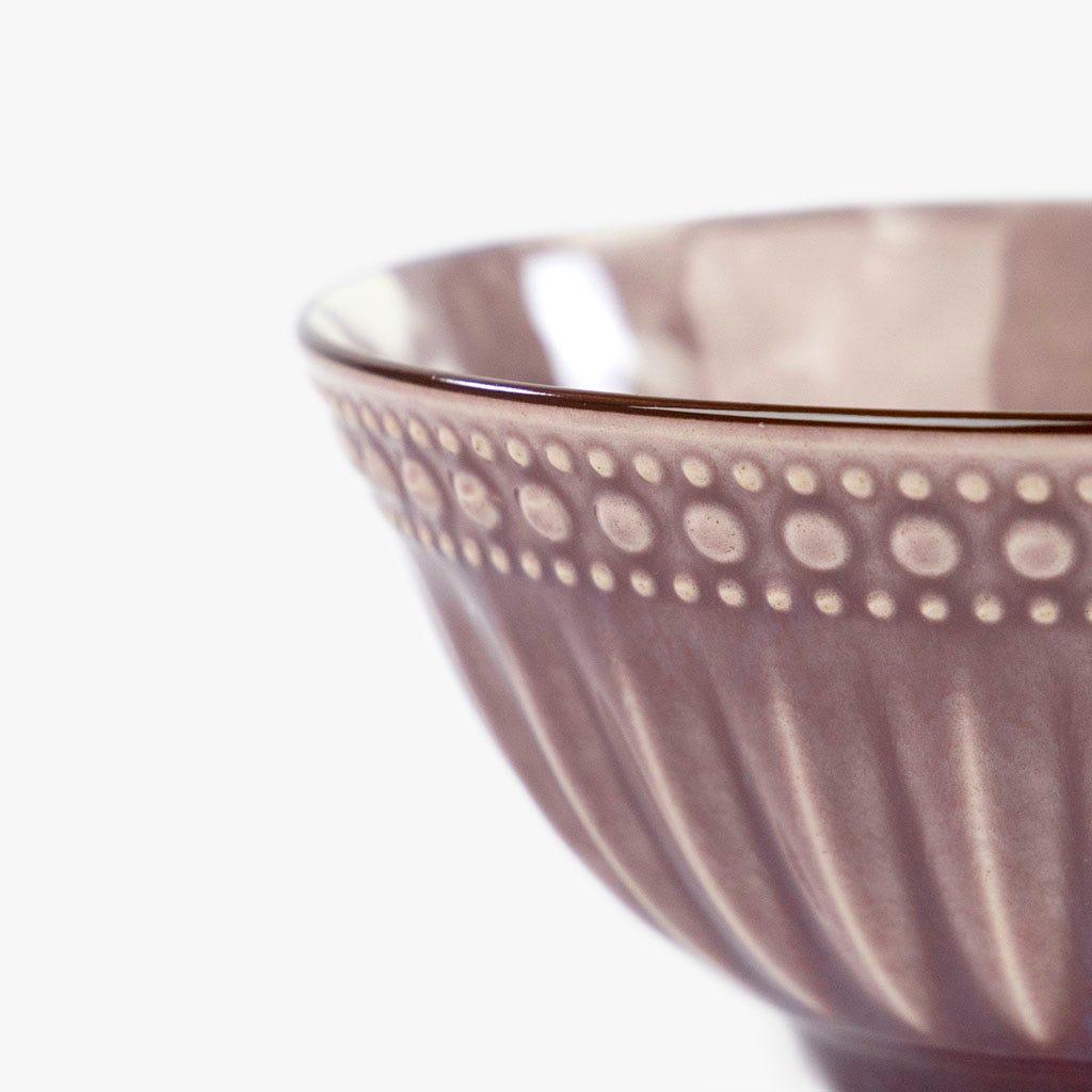Taça Marmoreada Beringela 15 cm