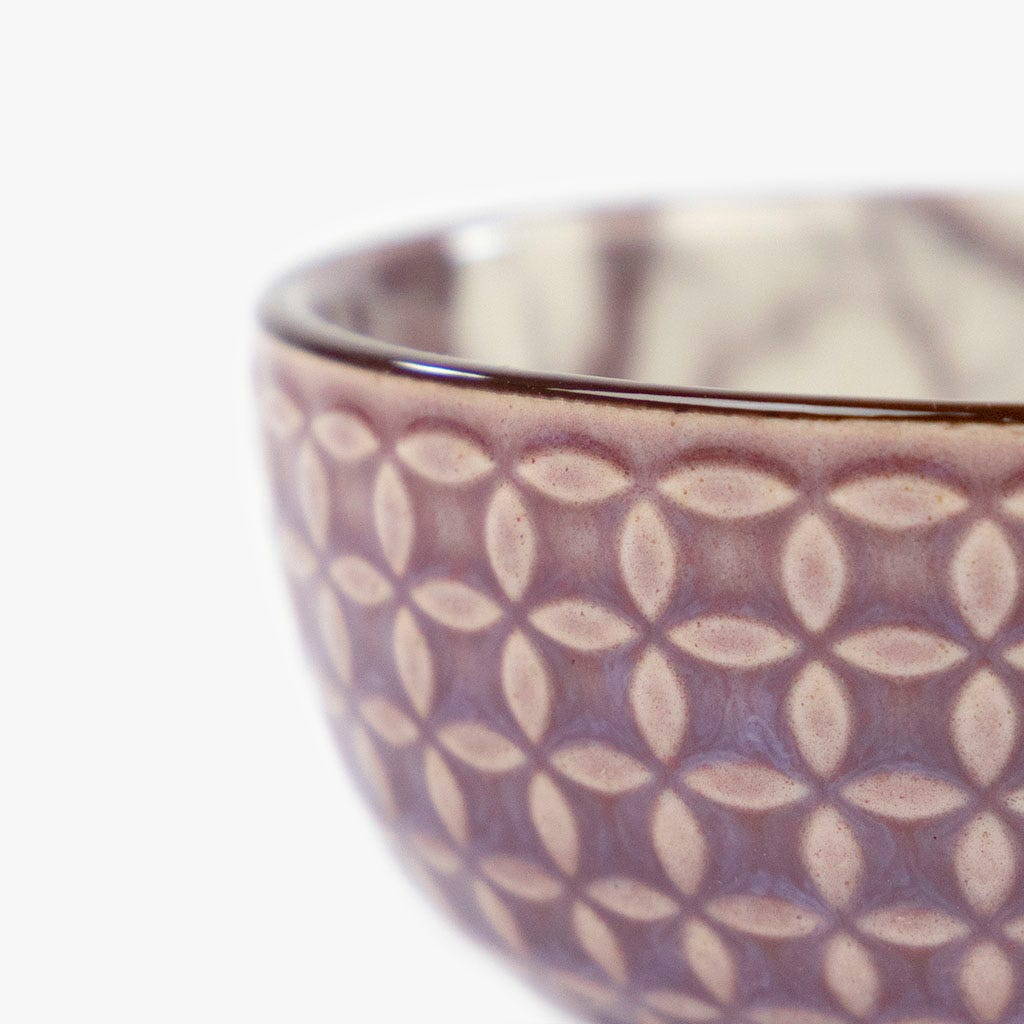 Taça Marmoreada Beringela 7.6 cm