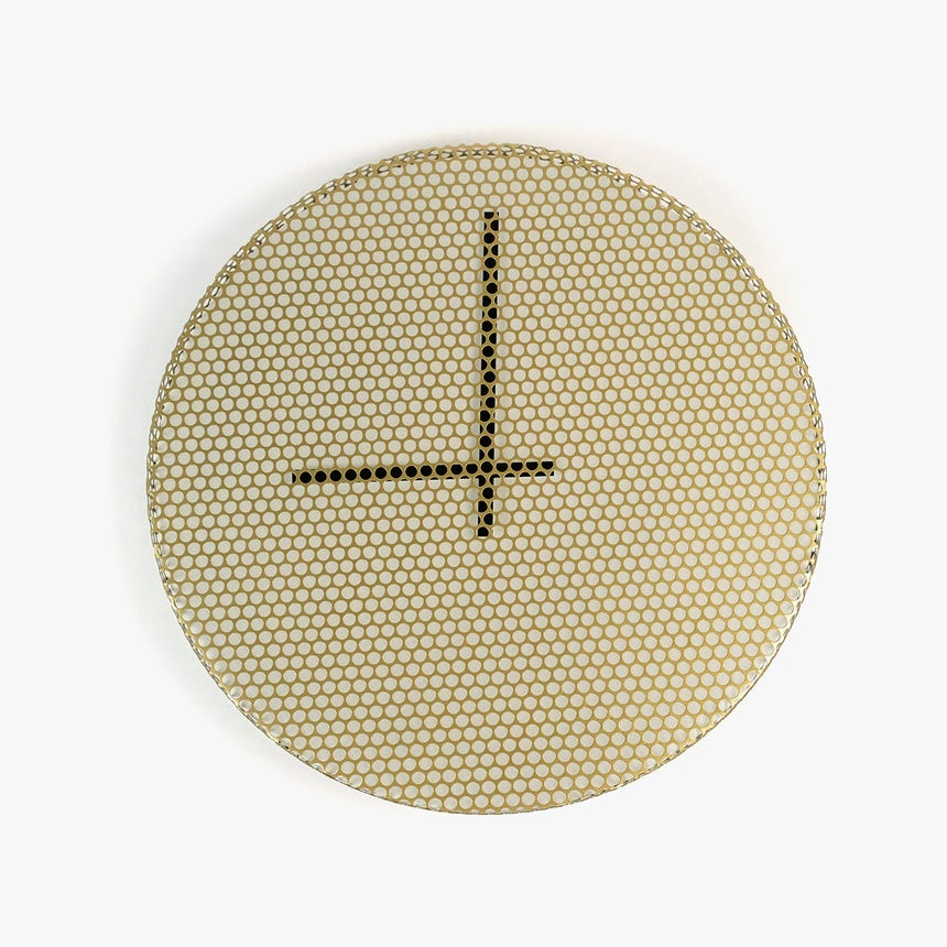 Horloge Réseau D'Or 45 cm