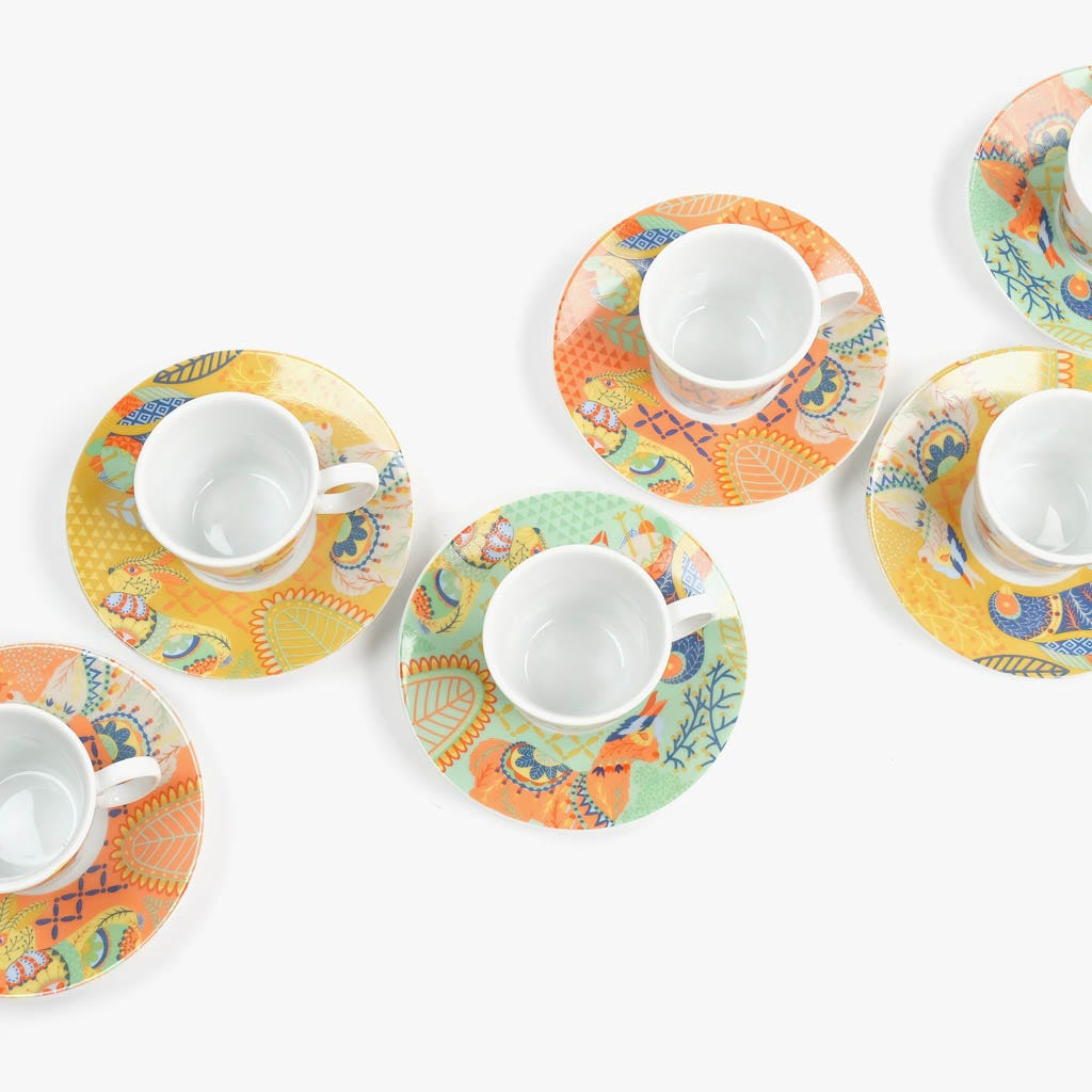 Taza de Café Suyu  (Juego 6)