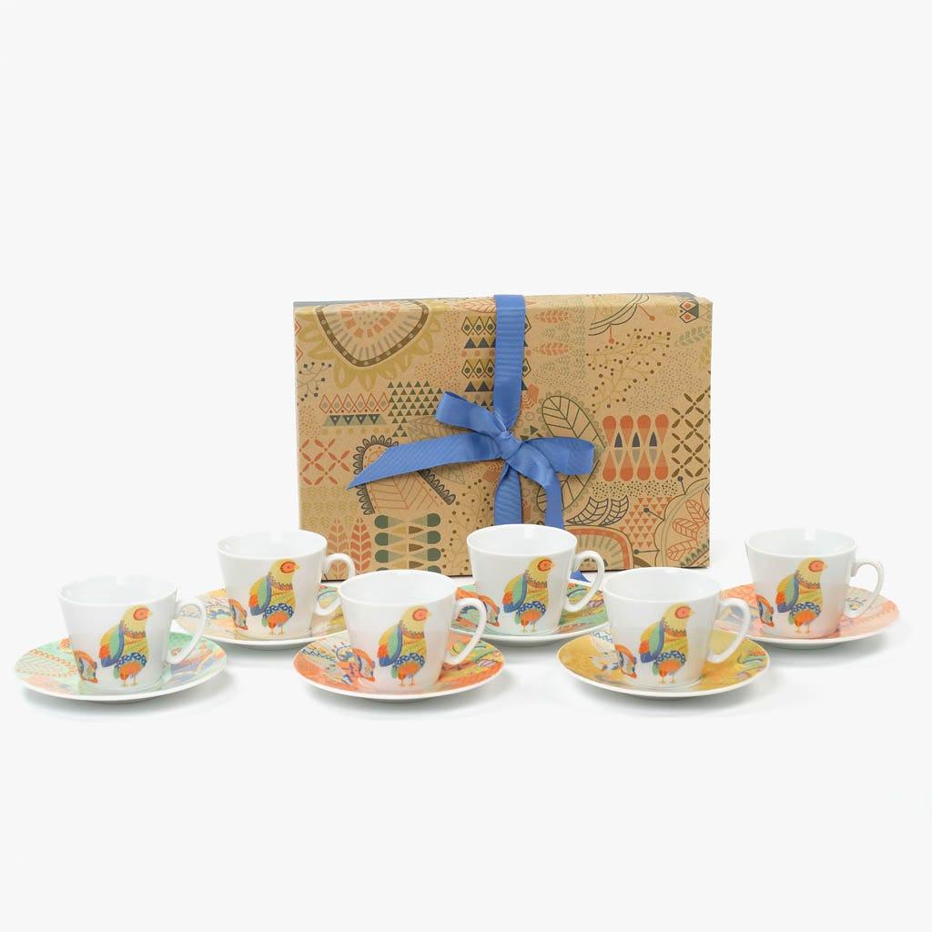 Chávena de Chá Suyu (Conjunto 6)