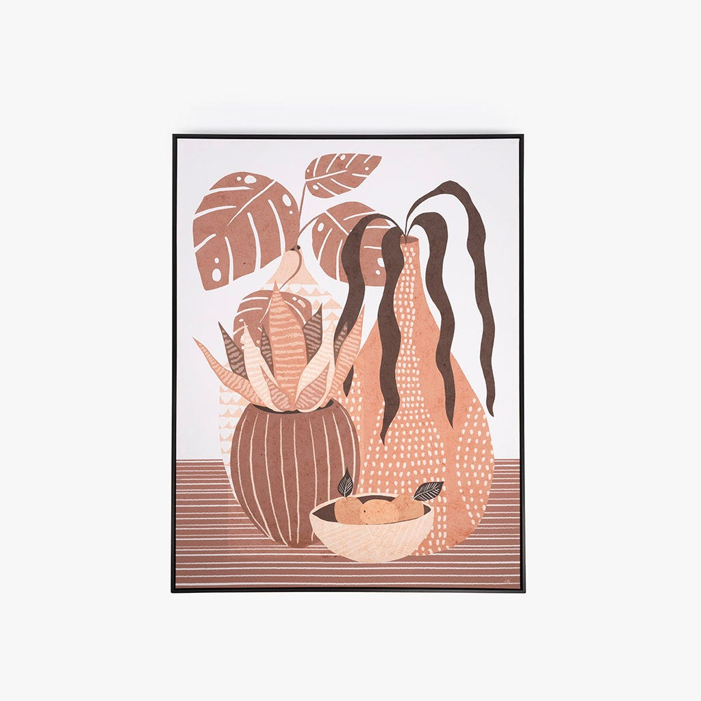 Toile Vase 142x102 cm