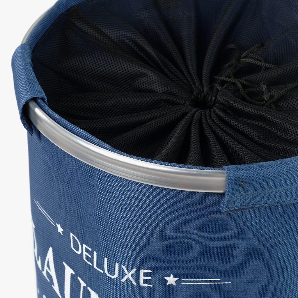 Panier à Linge Deluxe Bleu 38x54 cm