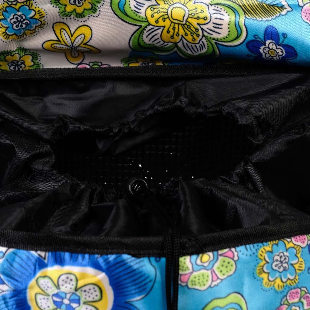 Trolley Flores com 3 Rodas 36X22X58 cm