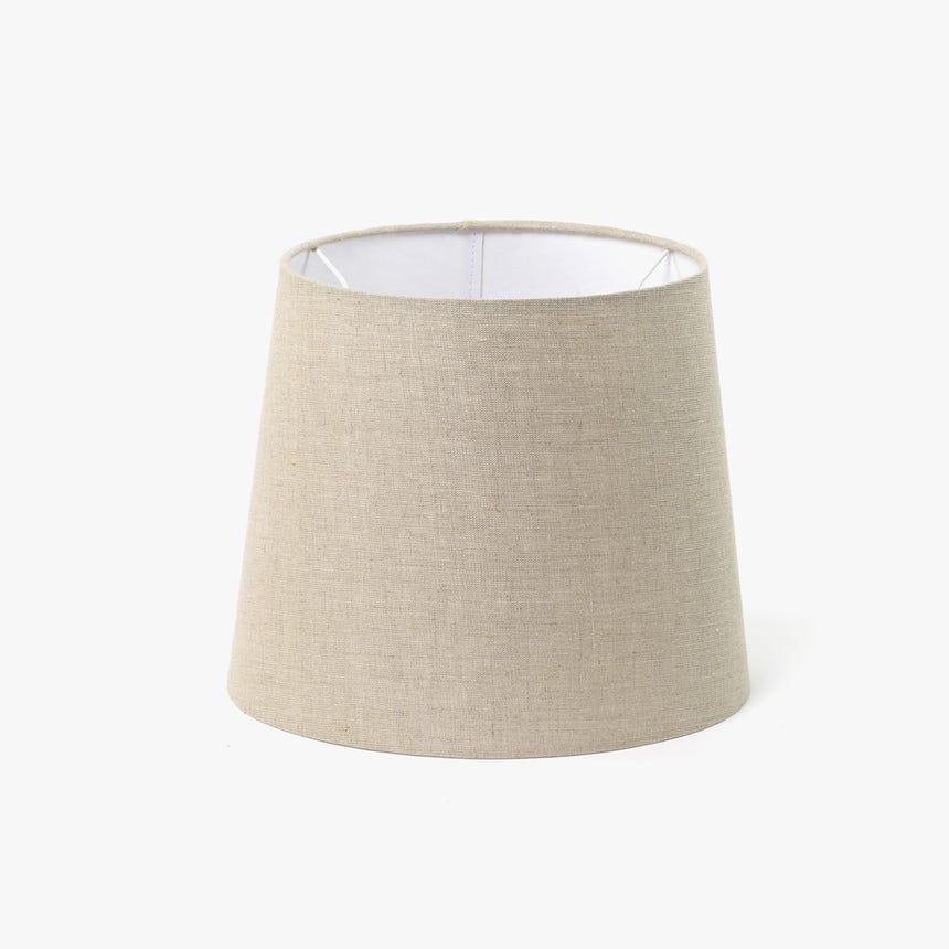 Abatjour Long Drum Linho D: 30cm