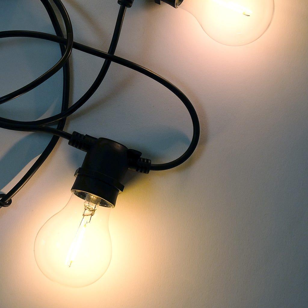 Lumières de Noël (utilisation extérieure) 10 LED 8 m