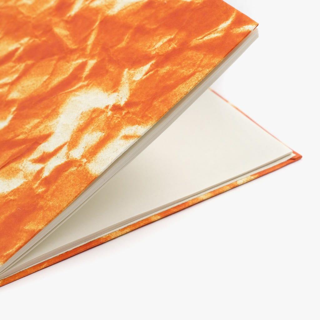 Carnet de notes Ciel Orange 13x18 cm