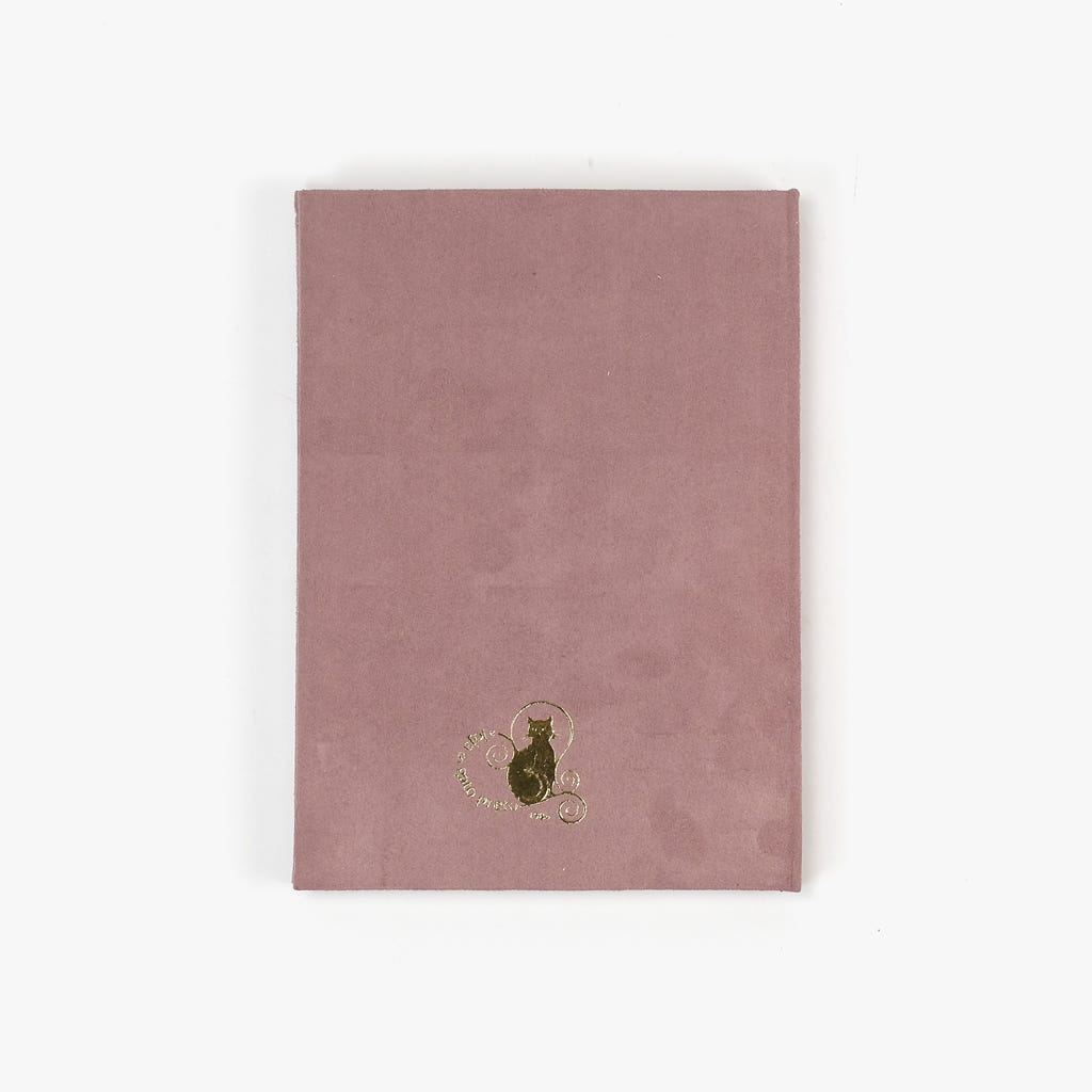 Carnet de Notes NostalgieRose15x21 cm