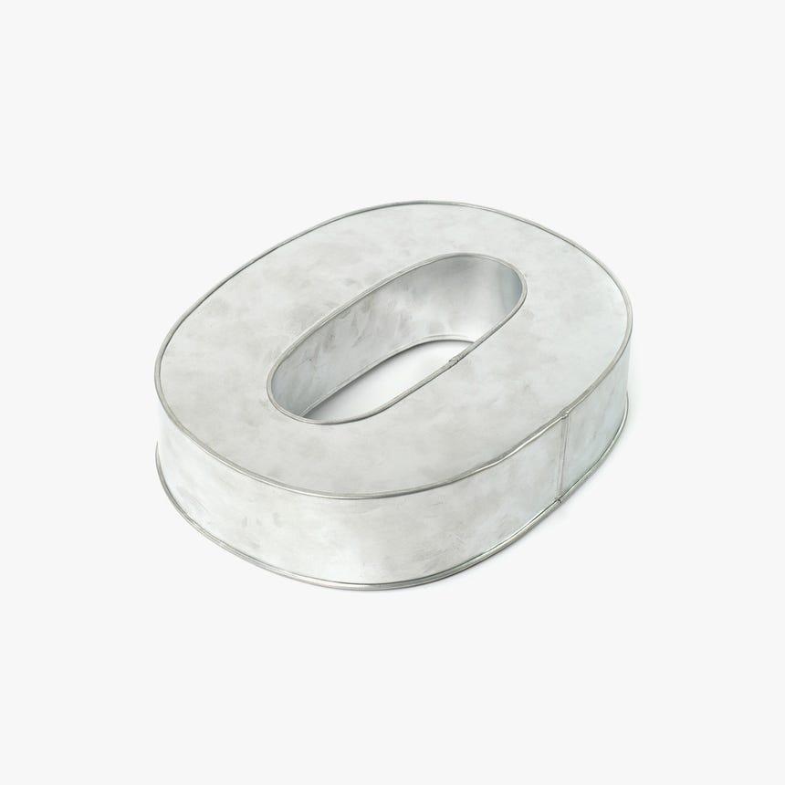 Forma de Bolo 0 35x25x7,5 cm