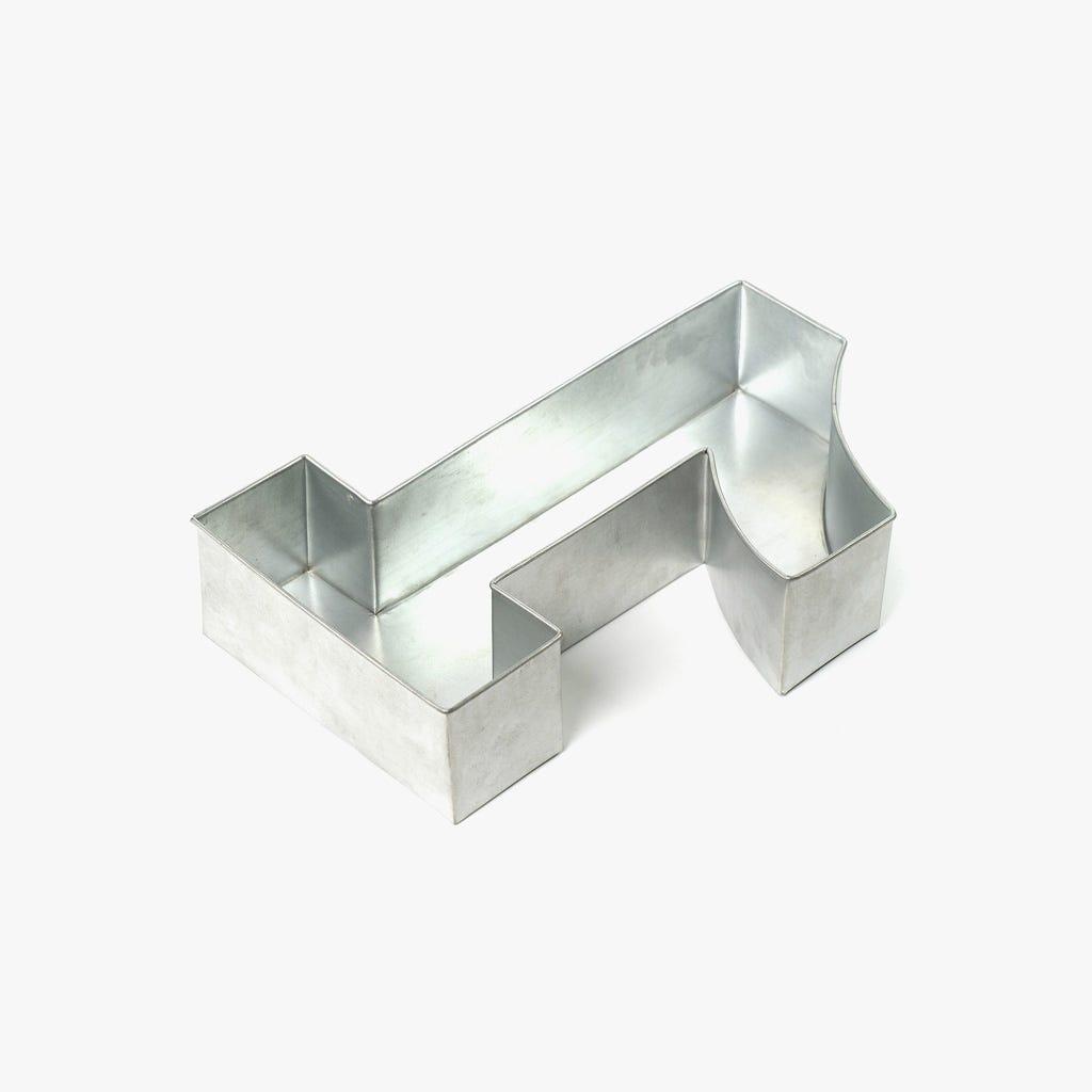 Forma de Bolo 1 35x25x7,5 cm