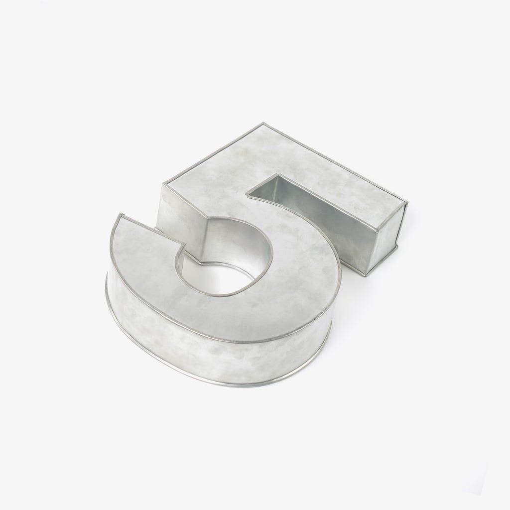 Forma de Bolo 5 35x25x7,5 cm