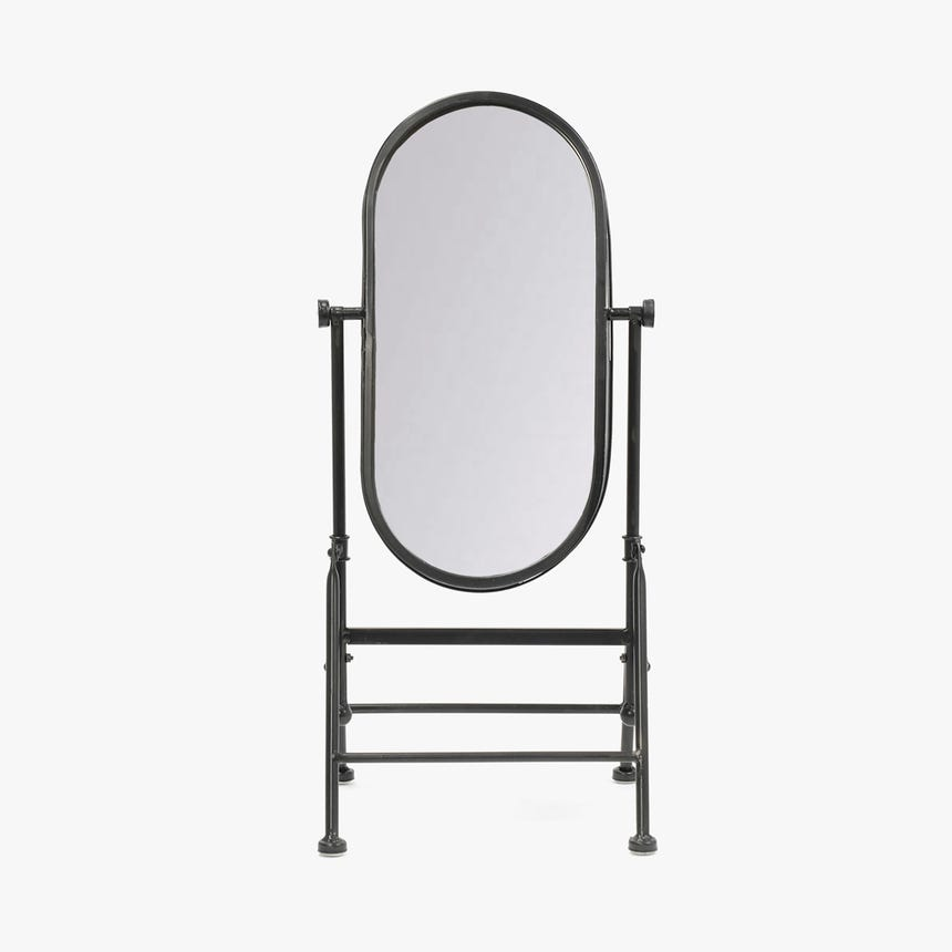 Espelho Vintage Preto25x55 cm
