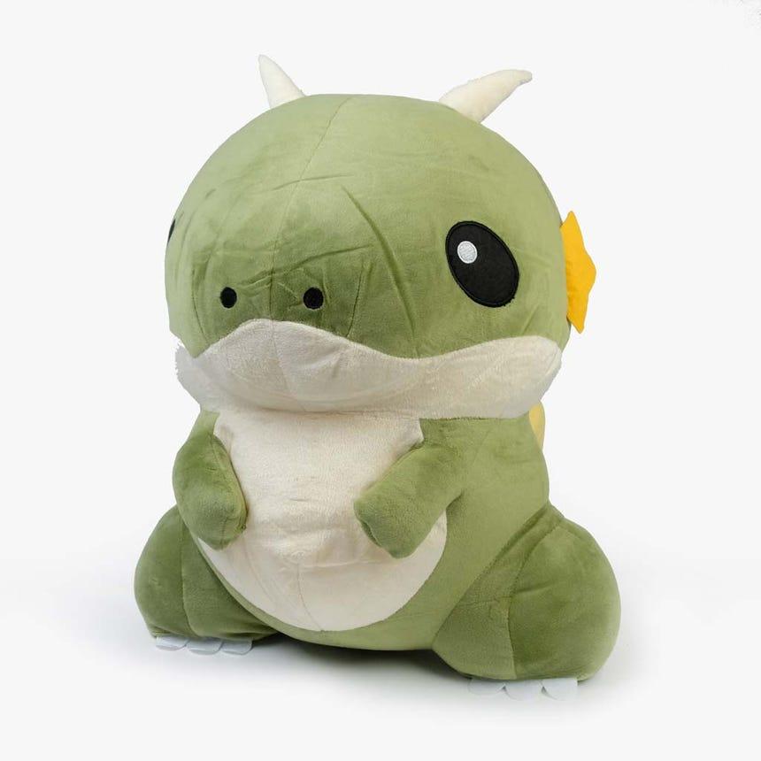Dinossauro verde 36 cm
