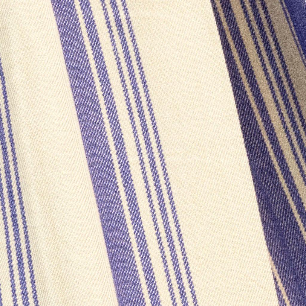 Cama de rede Branco e Azul 200x90 cm