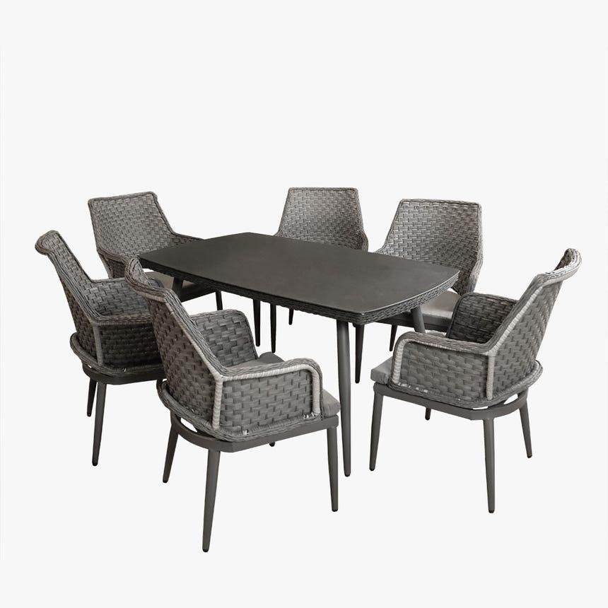 Mesa + 6 Cadeiras Copacabana