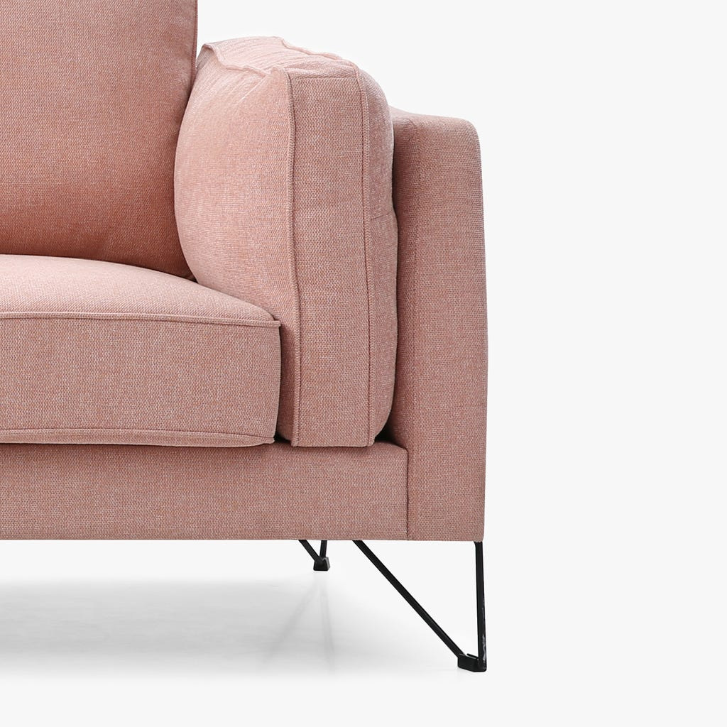 Sofá Aniston rosa