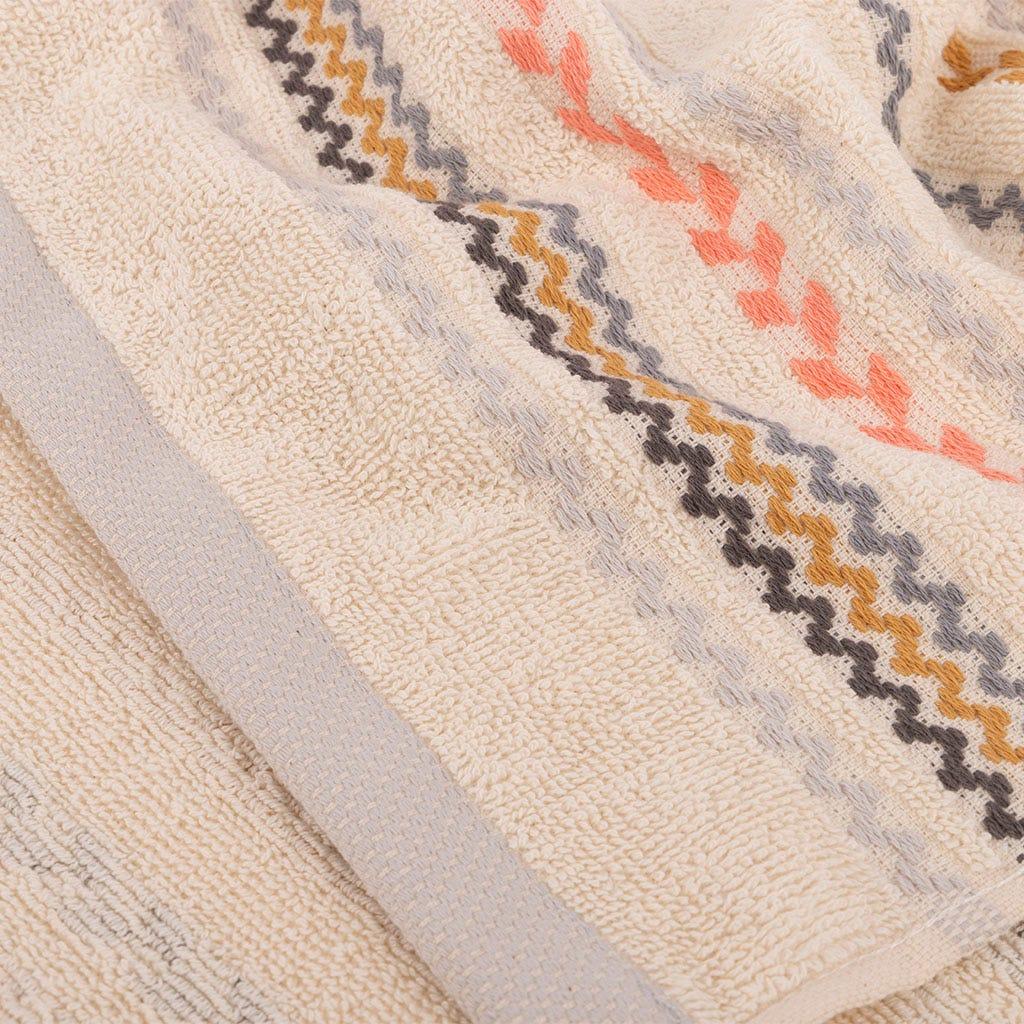 Toalha de Banho Riscas multicor 50x90 cm