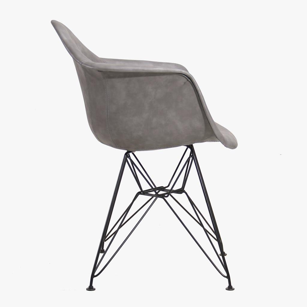 Cadeira Ray Cinza 64x64,5x81 cm