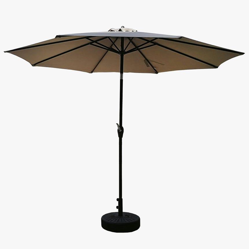 Chapéu de Sol com 8 varetas Bege D:300 cm