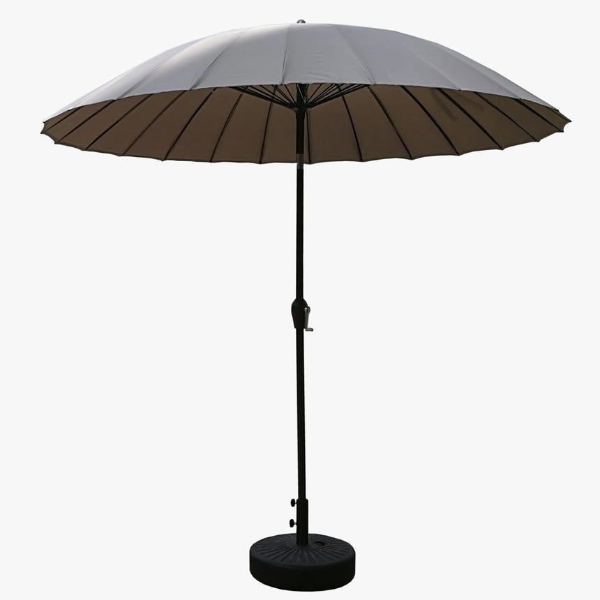 Chapéu de Sol com 24 varetas Bege D:270 cm