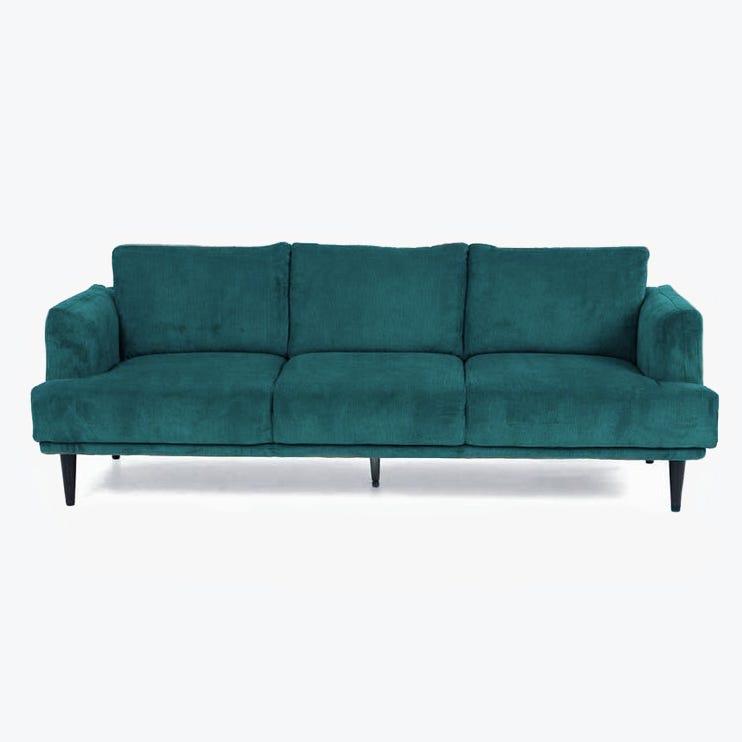 Sofá Kidman Verde 227x93x87 cm