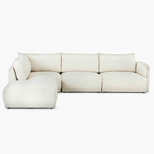 Sofá de esquina Cotillard Blanco