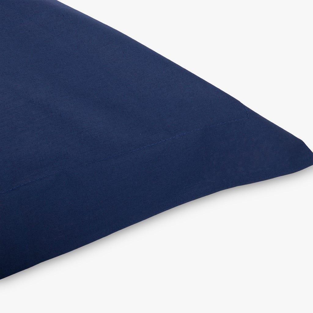Fronha Samoa Samoa percal Azul 65x65 cm