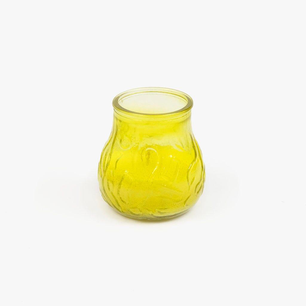 Vela copo citronela