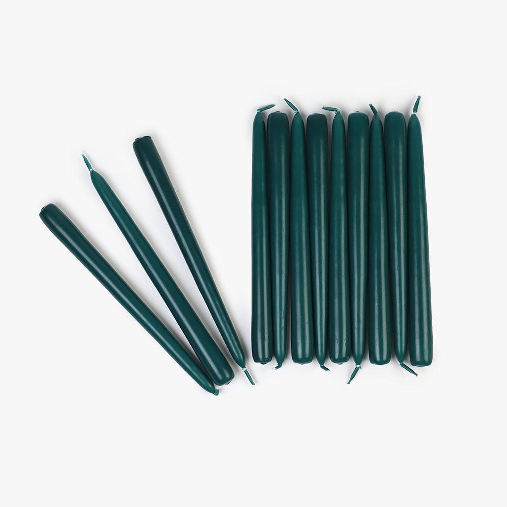 Vela Verde 24 cm (conjunto12)